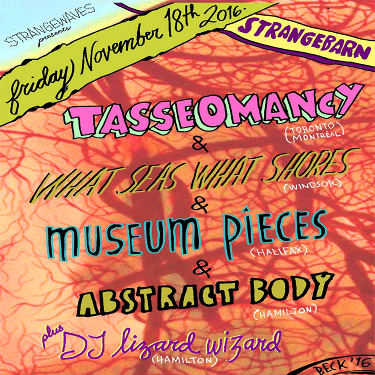 Tasseomancy, Museum Pieces, What Seas, What Shores @Strangebarn
