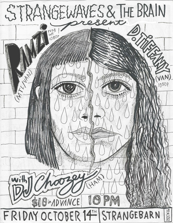 RAMZi x D. Tiffany/DJ Zozi x DJ Choozey  @Strangebarn