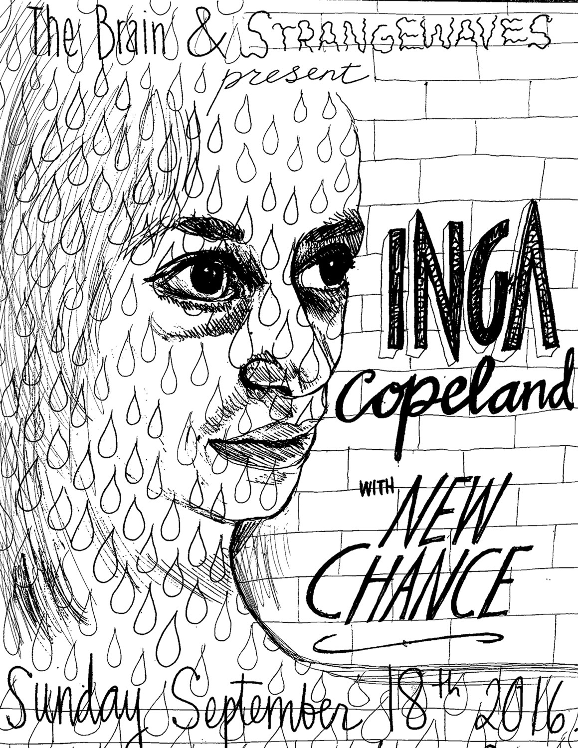 Inga Copeland with New Chance  @Strangebarn