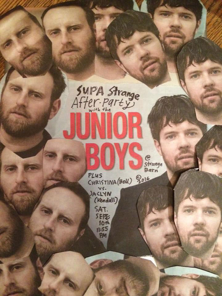 Supa Strange After Party w/ Junior Boys DJs  @Strangebarn