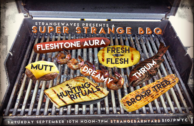 Super Strange BBQ 2016   @Strangebarnyard
