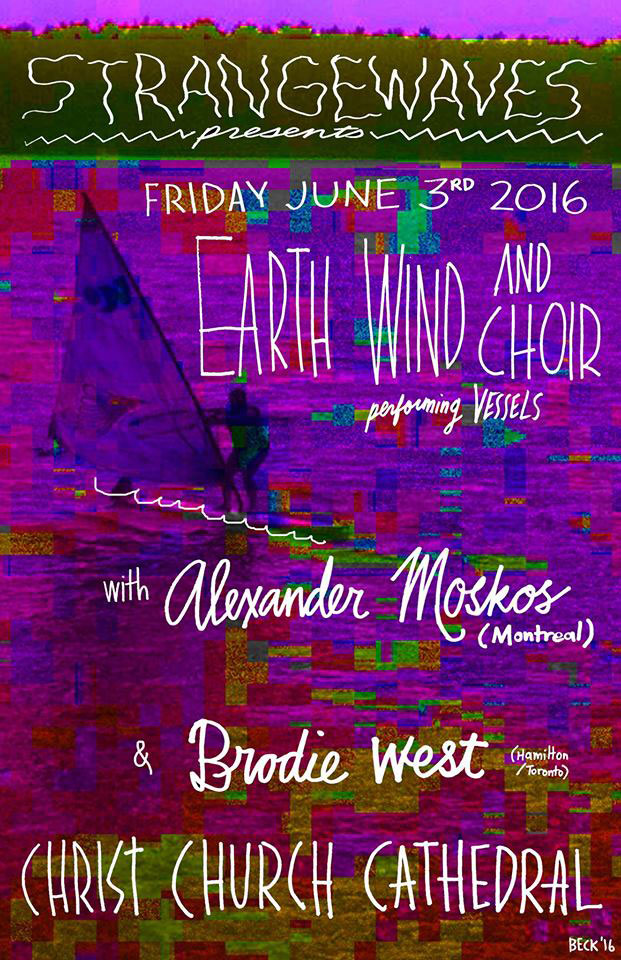 Earth Wind and Choir / Alexander Moskos / Brodie West  @Christ's Church Cathedral