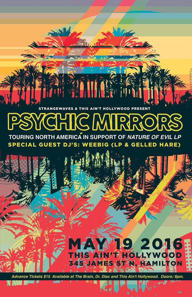 PSYCHIC MIRRORS, DJ Weebig  @This Ain't Hollywood