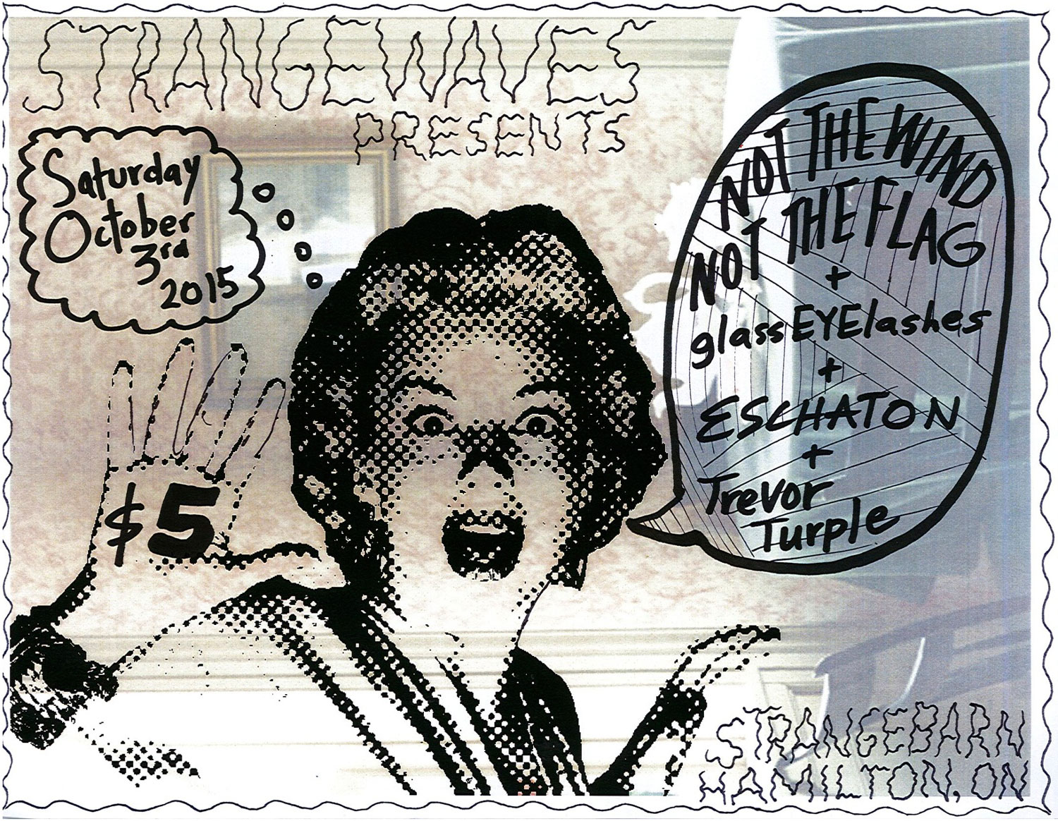 Not the Wind, Not the Flag (Hamilton vinyl release), w/ Eschaton, glassEYElashes & Trevor Turple  @Strangebarn