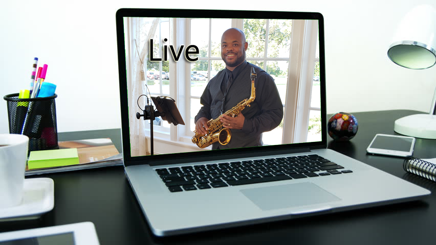 Lessons are live and engaging♫