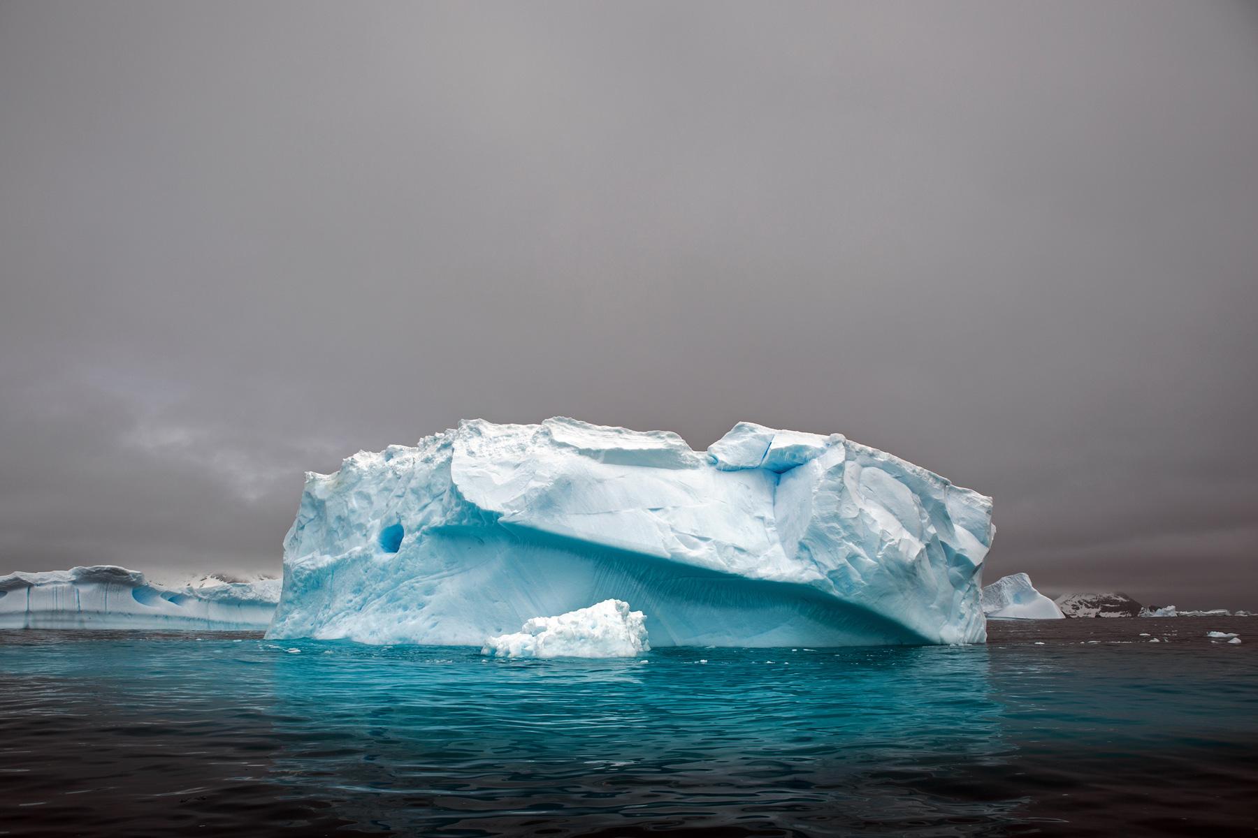 An iceberg in Cierva Cove, Antarctica