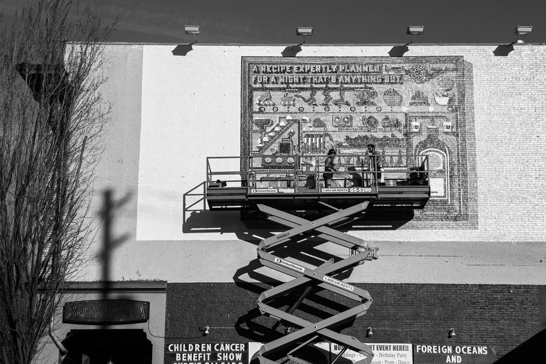 Mural in Portland, Oregon