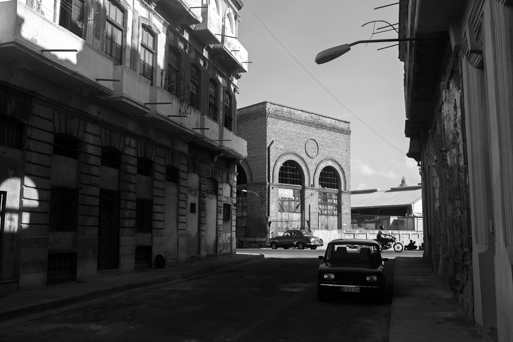 A street in Centro Havana, Cuba