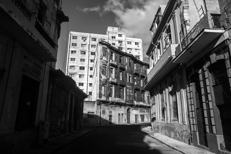 A street in the Vedado district of Havana, Cuba