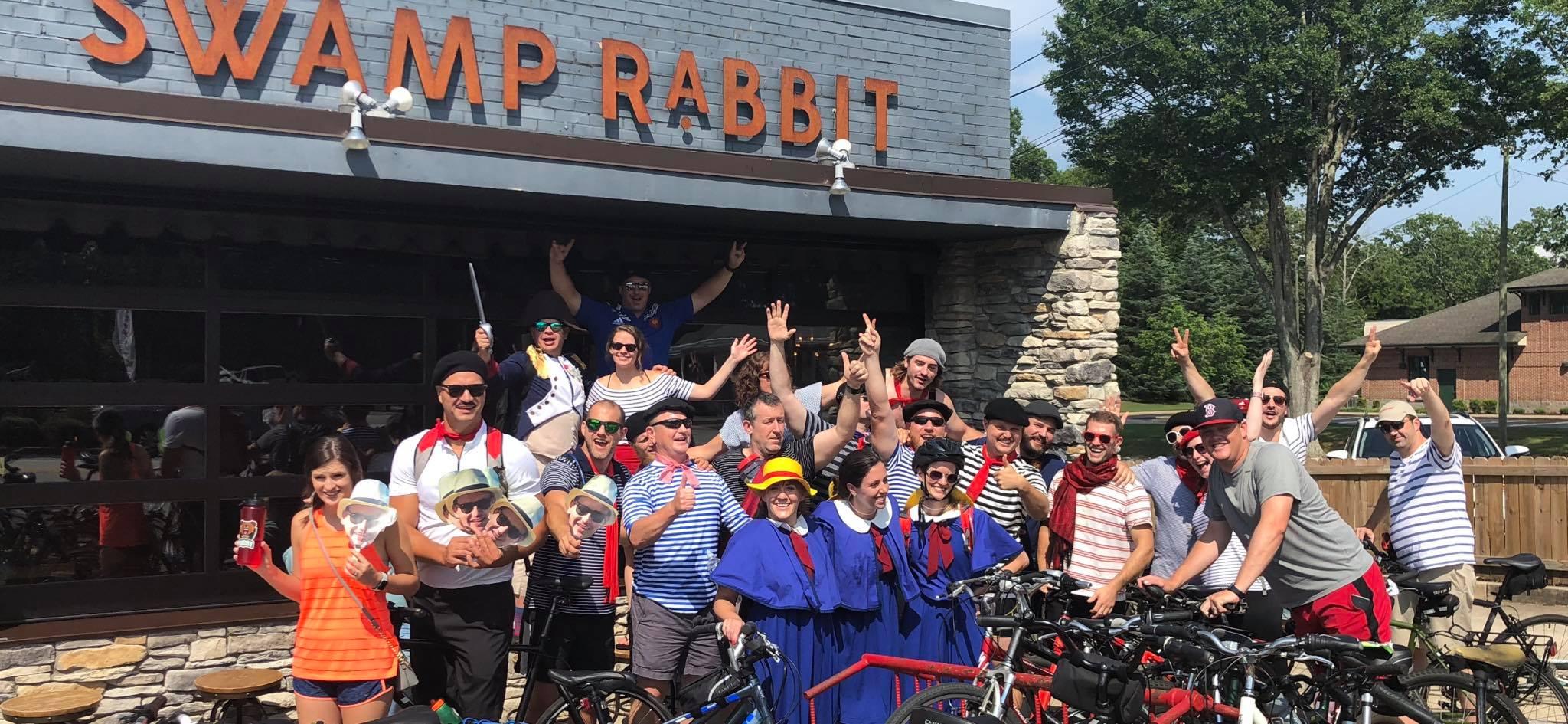 The Annual Tour De Fran Bike Pub Crawl
