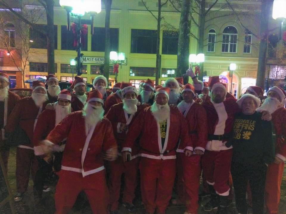 Santa Clause Pub Crawl