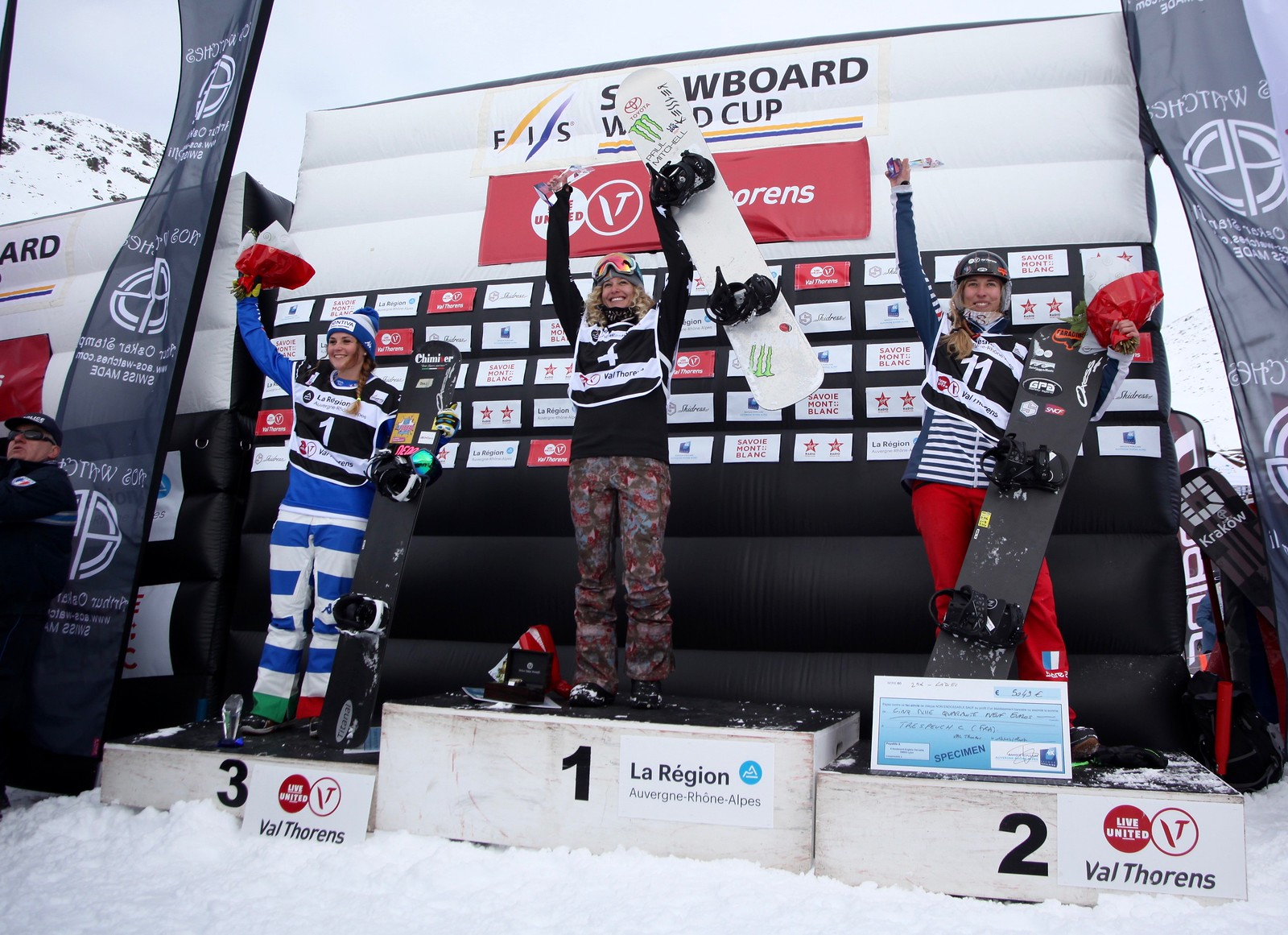 1st Place -  World Cup: Feldberg, Germany