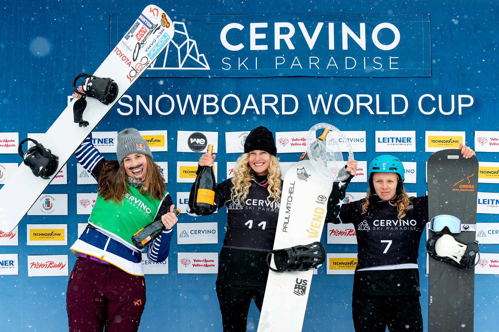 1st Place - World Cup: Cervinia, Italy