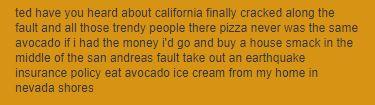 "lyrics to ""California"" by Bob"