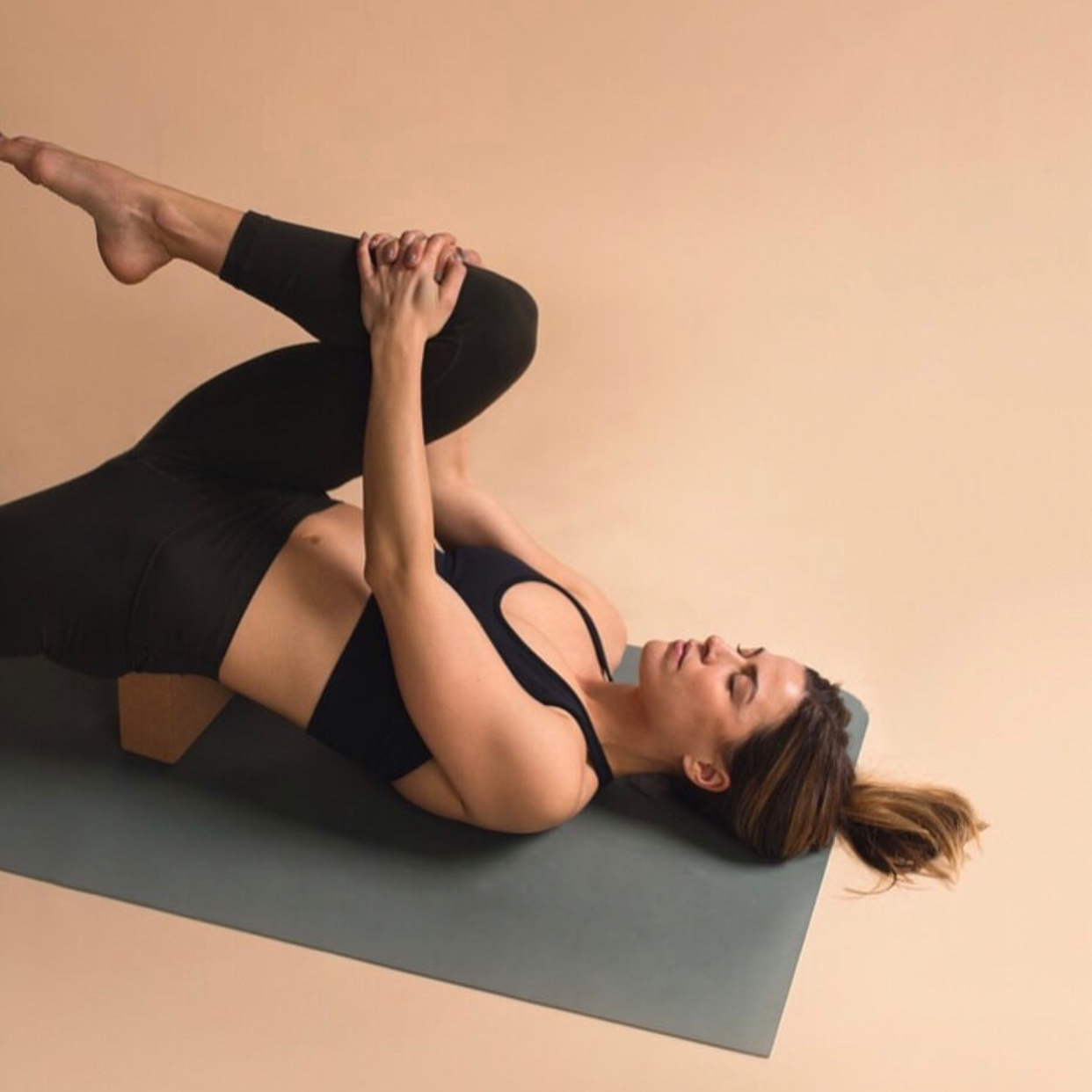 Cork Yoga Block -