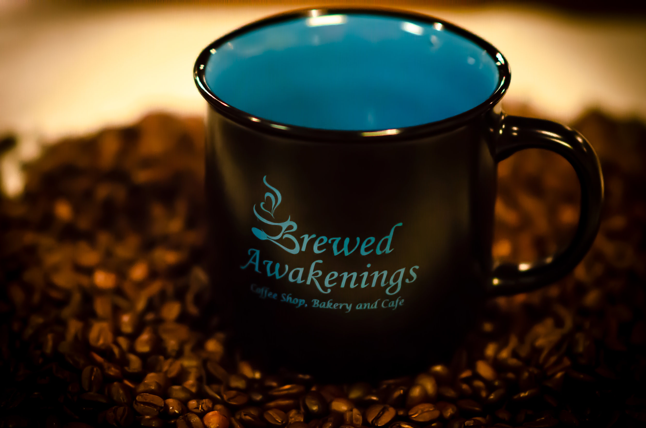 About - Discover what fuels our passion; meet Brewed Awakenings' owner, Kim Kaster & the staff that delivers smiling service!