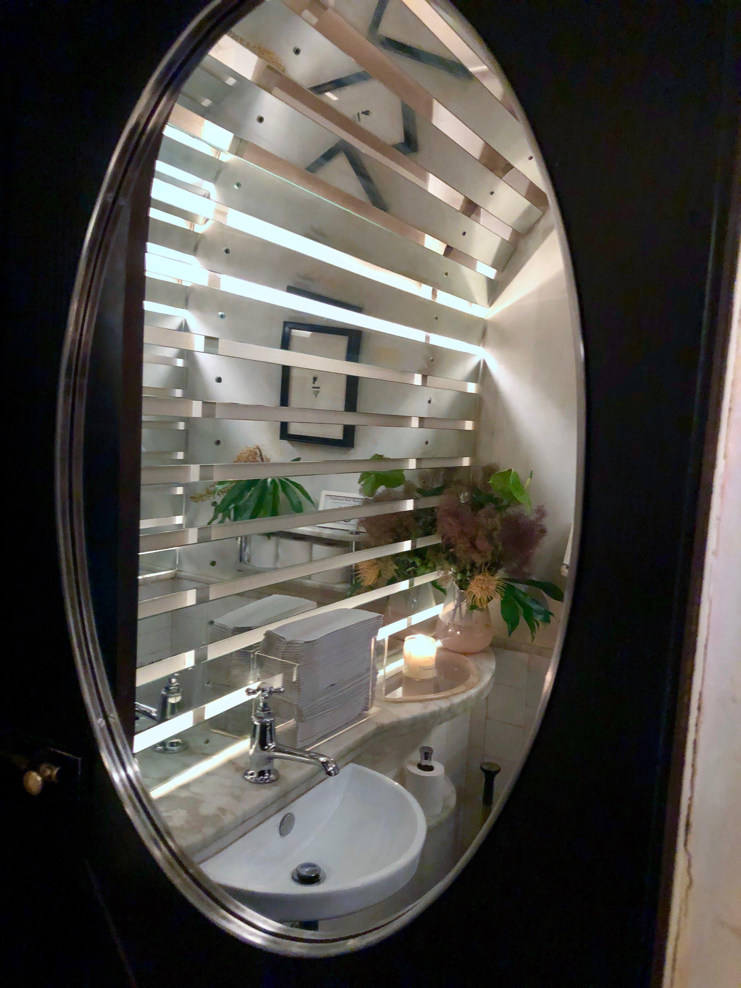 The bathroom at Elsa in downtown Brooklyn - Brooklyn's best bathrooms