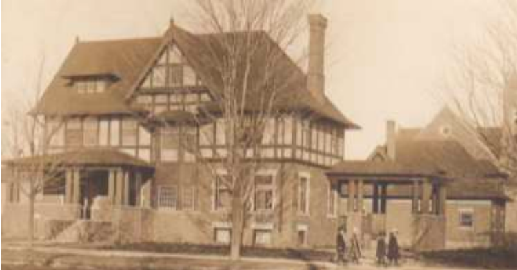 Alfred J. Doherty Residence, circa 1904 Courtesy of Robert Knapp Collection