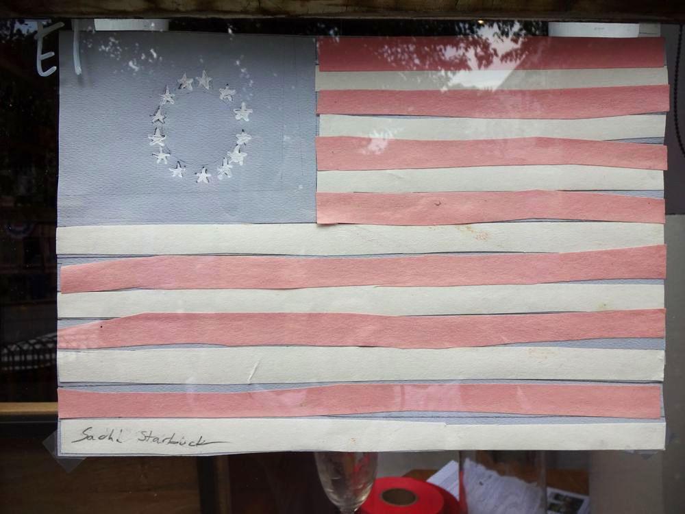 """Kristin O'Hara - won """"Classic American Flag"""" (E1)."""