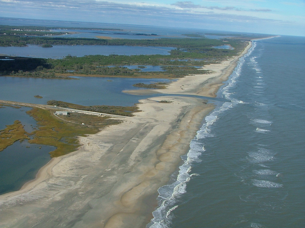 Chincoteague National Wildlife Refuge, Virginia, after Hurricane Sandy