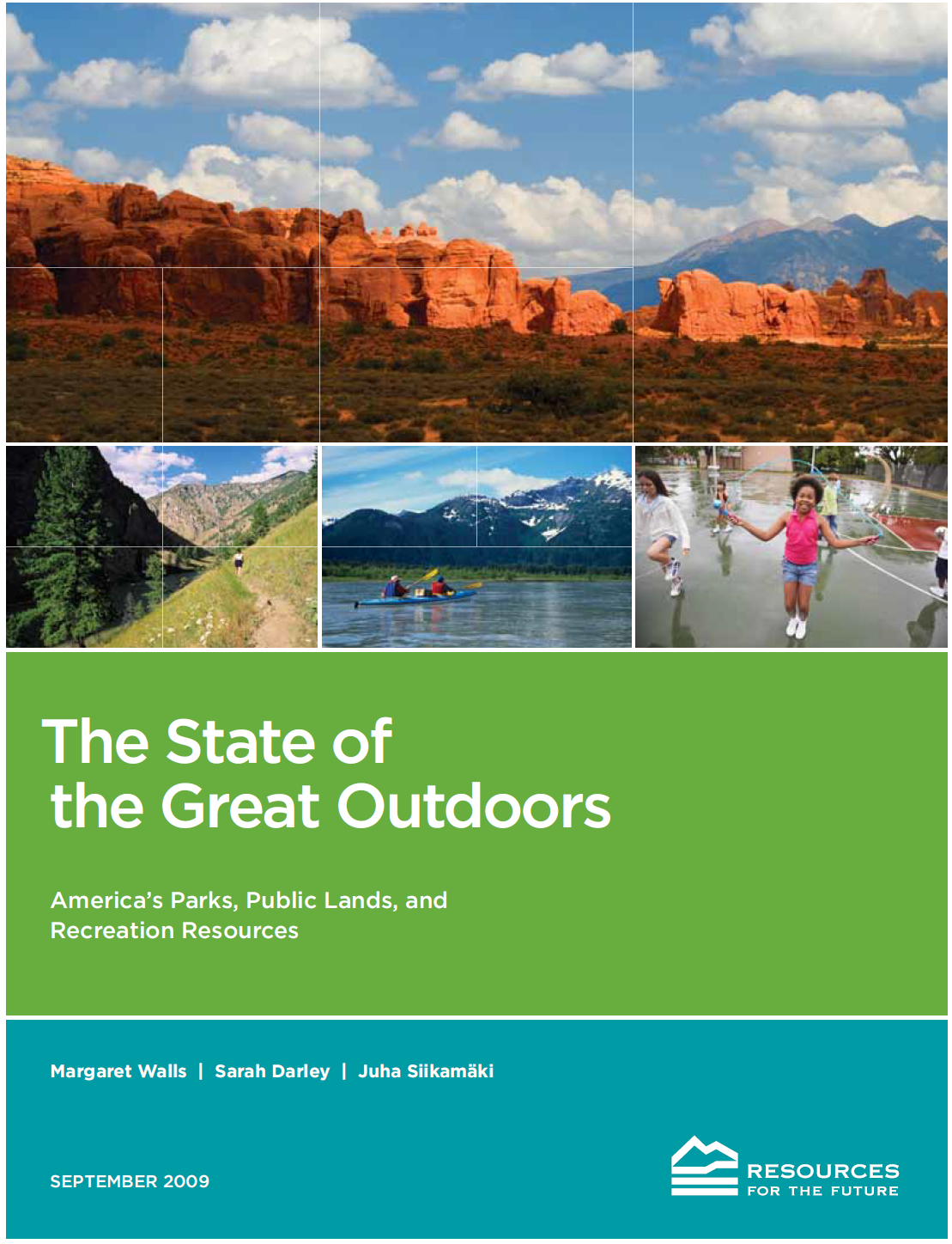 - In 2016, I wrote in National Parks Traveler about the enduring recommendations from the 2009 Outdoor Resources Review Group (ORRG), a bipartisan commission of conservation, parks, and public lands experts, co-chaired by two U.S. Senators, that conducted a wide-ranging review of outdoor recreation resource issues and made several recommendations, including about funding. I led an RFF research study in support of the ORRG; our expansive and detailed report and accompanying background studies are all still available on an RFF webpage.
