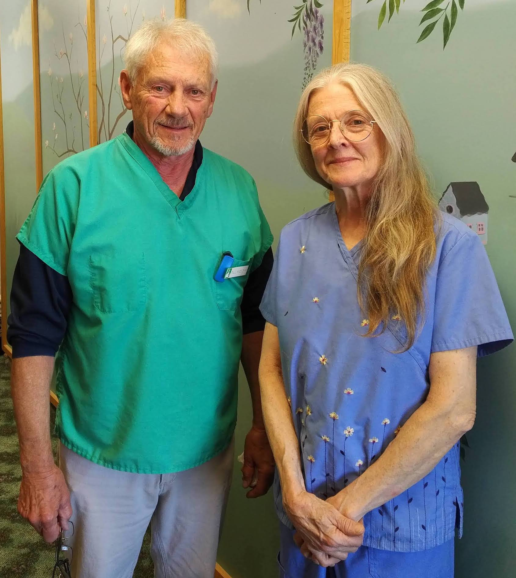 Paul Wade, DVM, and Robin Elms, DVM
