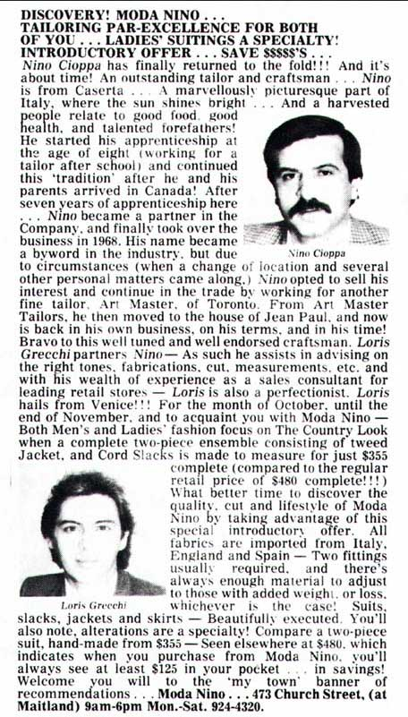 Magazine:  Toronto Sun  Date:  October 27, 1982