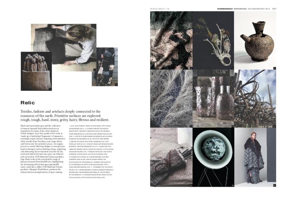 Textile View Magazine Autumn/Winter 18/19 -