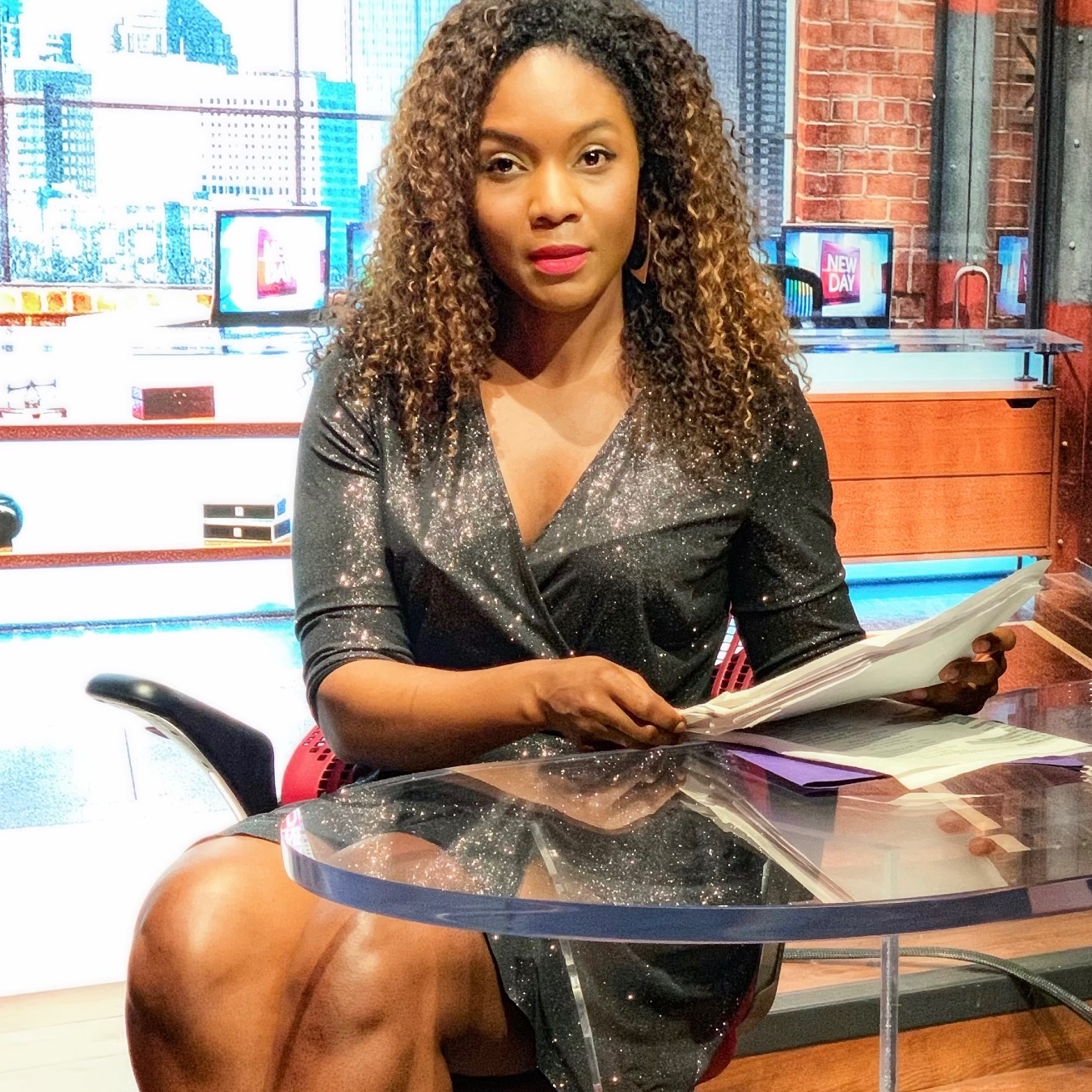 TV PRODUCER - Her story marries Cinderella with The Devil Wears Prada. Tamisha Harris. One of the most intriguing and sought after television producers in media today.