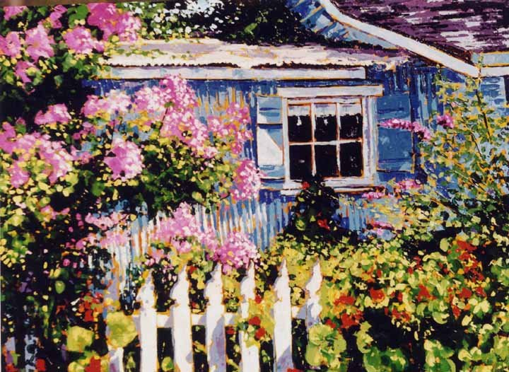 'BLUE COTTAGE GARDEN'