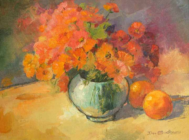 'STILL-LIFE IN ORANGES'