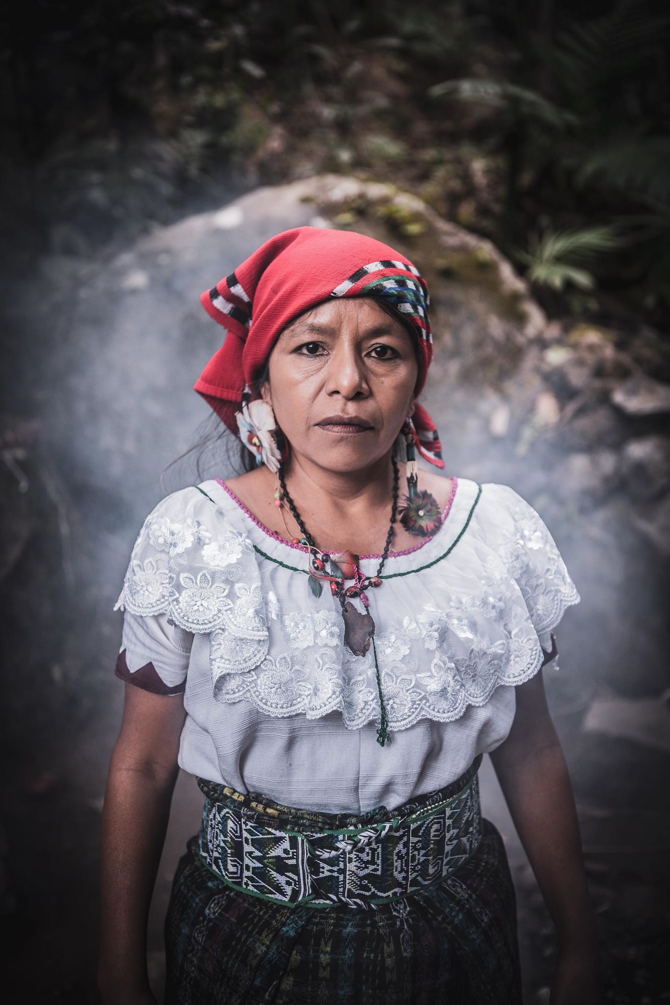 Marina Cruz  Nana Marina is a spiritual guide from the Mayan Tz ́utujil Tribe based in Guatemala. She is part of a group known as the walkers for the life and the peace of earth. Nana Marina is a powerful ceremonial leader of fire, tobacco, and Cacao. She is known globally for her dedication to sharing the ancestral wisdom.