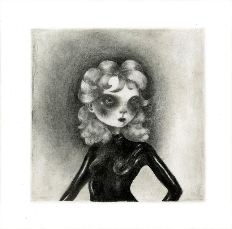 chen xue, graphite on paper