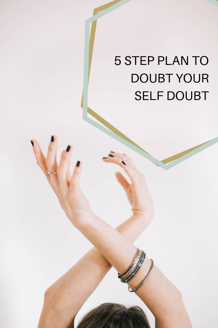 Self doubt is normal but you should not let it hold you back. Follow my 5 step plan to keep moving your creative biz forward in times of self doubt. -