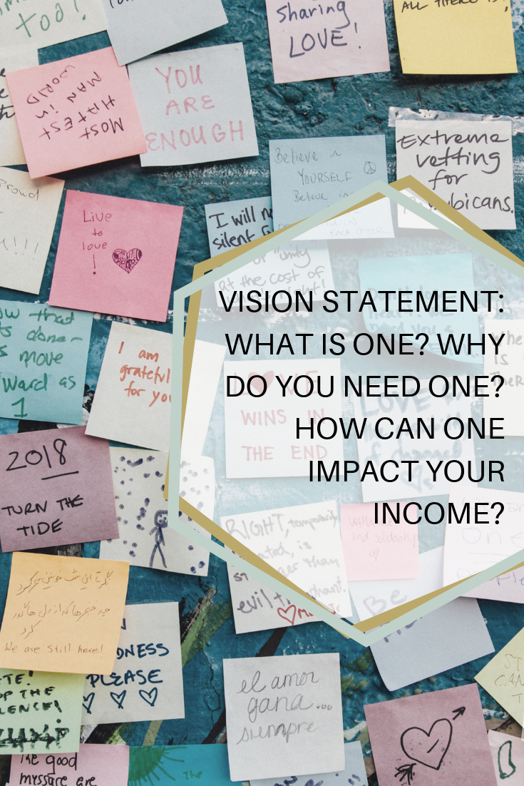 Vision statements aren't just for big companies, they are super valuable for small business and people wanting to better versions of themselves -