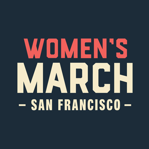 Women's March SF Square Social Profile - Logomark