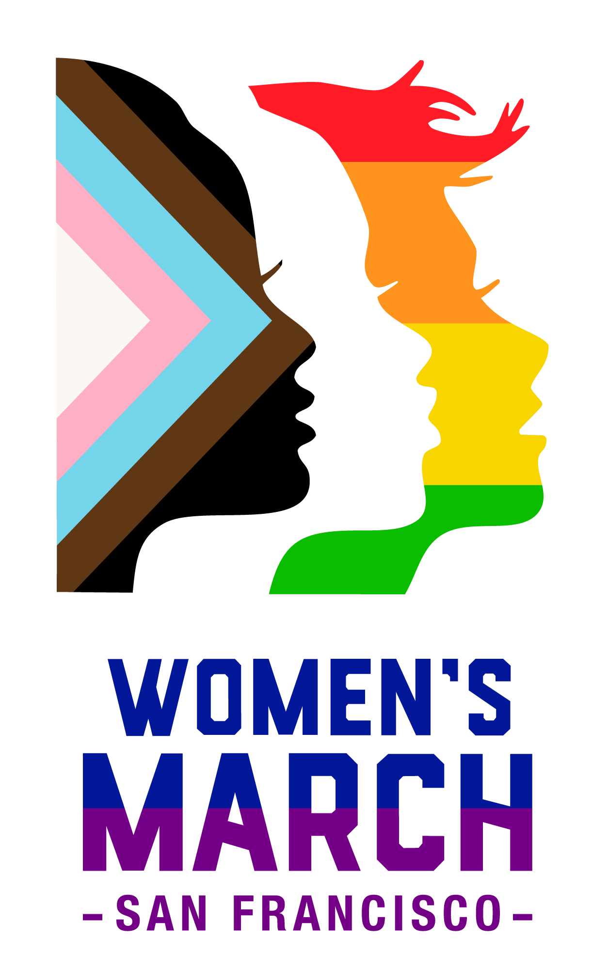 Women's March SF Pride Logo - Horizontal