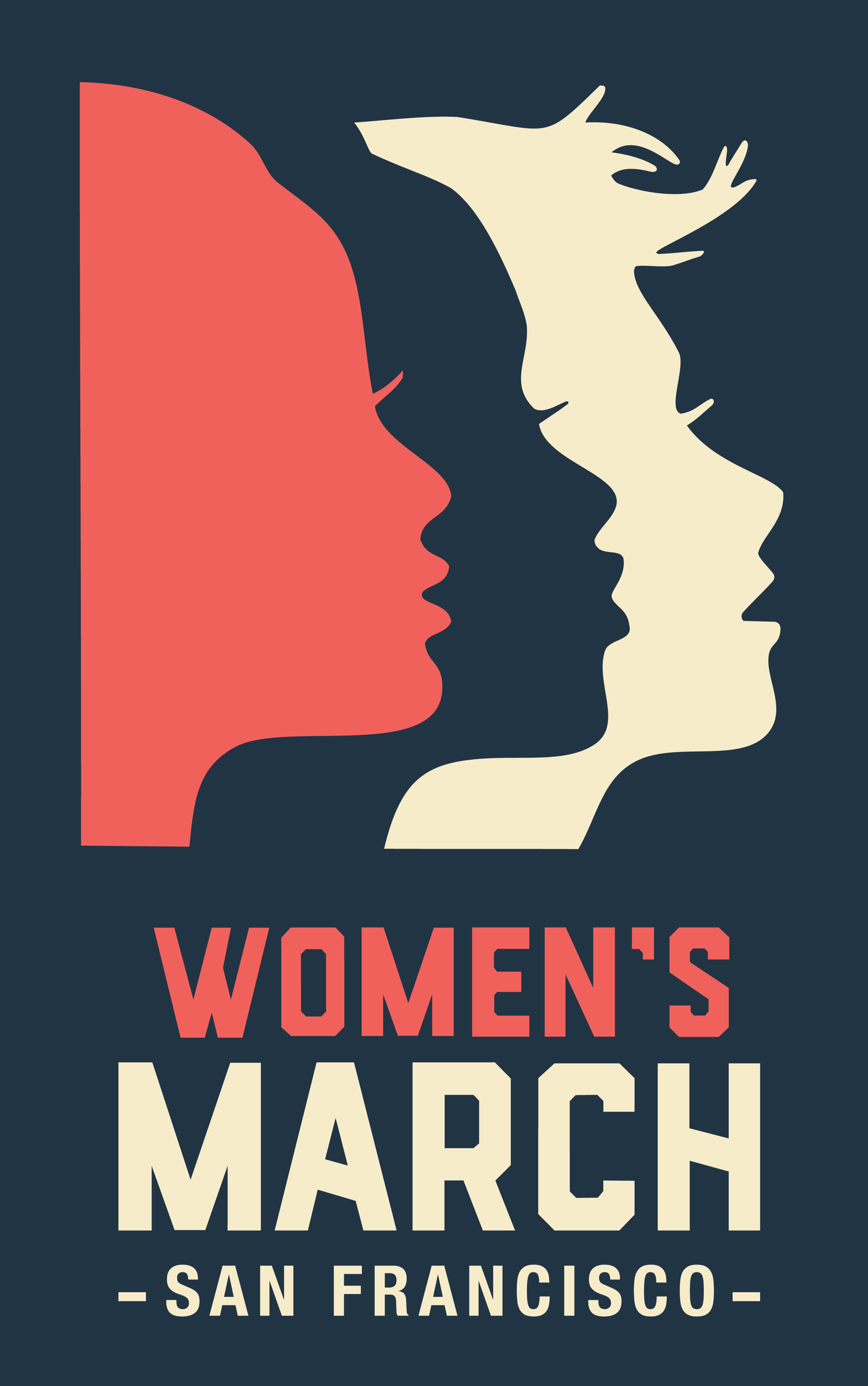 Women's March San Francisco Core Logo - Vertical