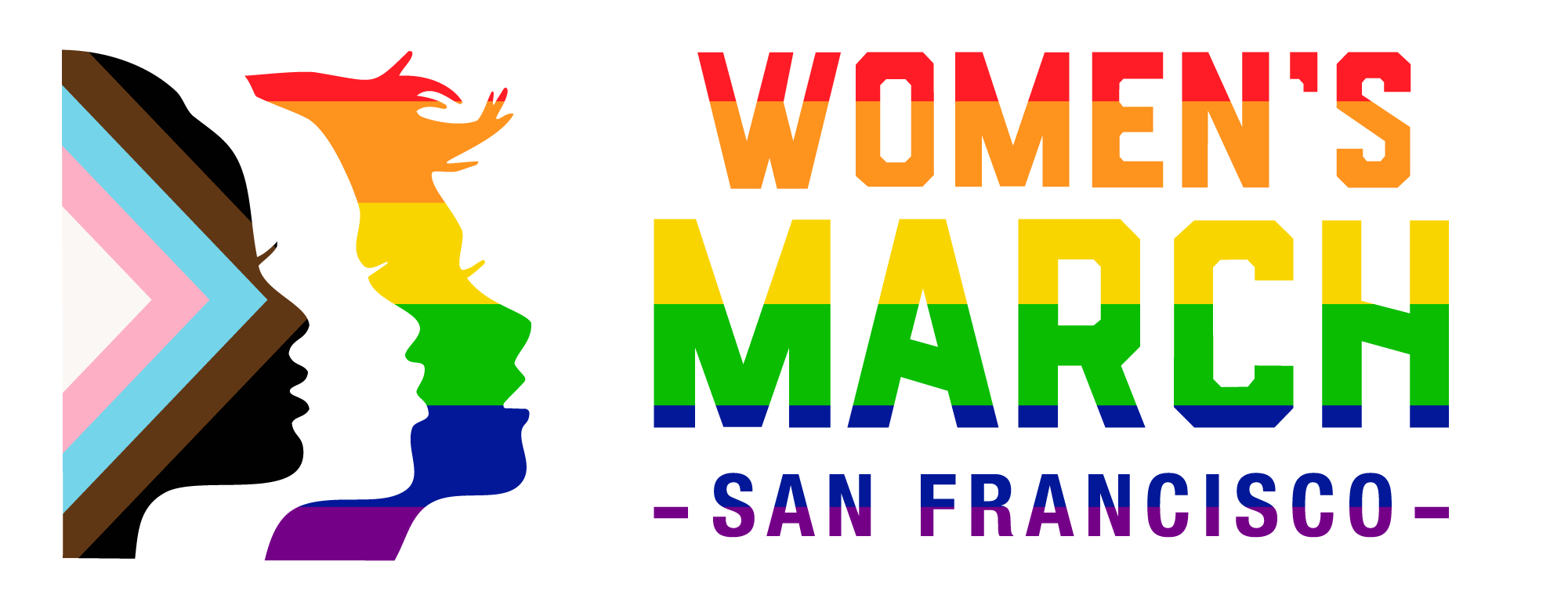 Women's March SF Pride Logo - Vertical