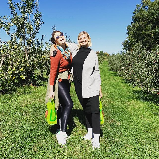 apple picking dreams with AL 🍎