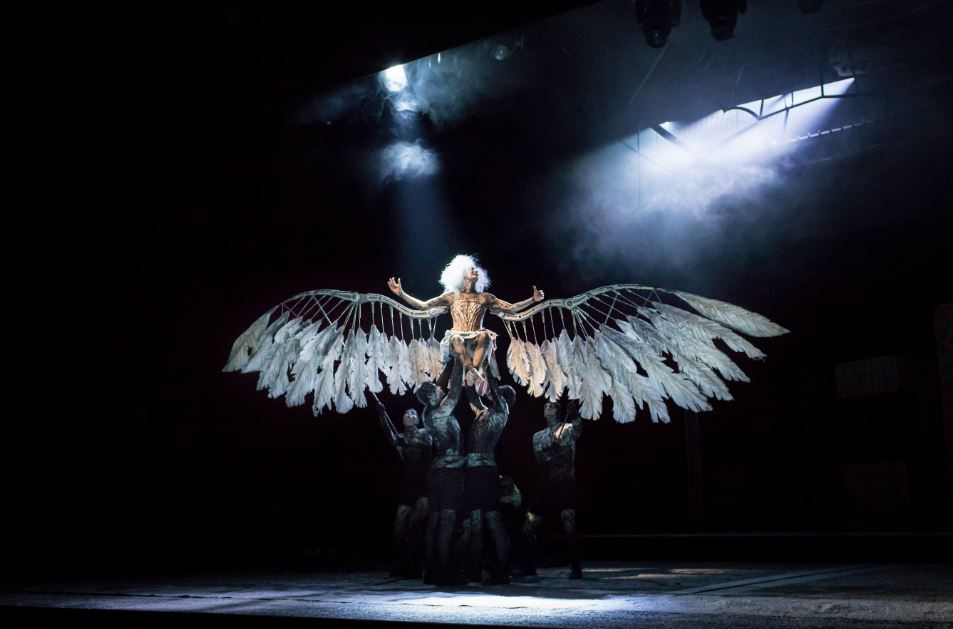 10 Secrets of the Angels in America Set - Edward Pierce is nominated for his first Tony Award for his design adaptation of the record-breaking Broadway revival of Angels in America.