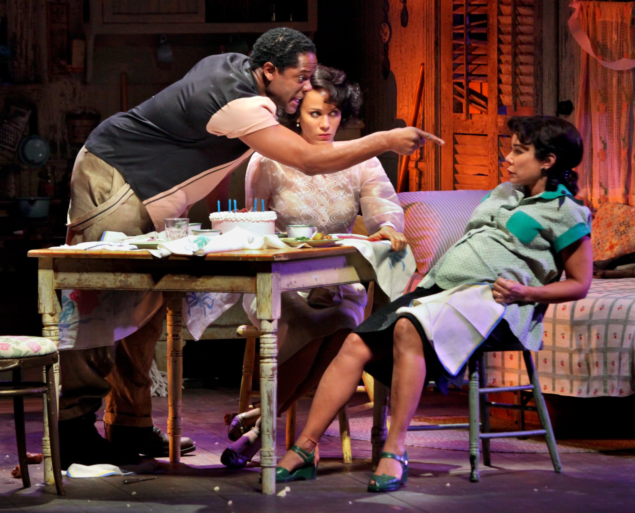 """Designers Eugene Lee and Edward Pierce on Creating the Look of A Streetcar Named Desire - """"Tennessee writes, at the top of every scene, rather specifically, about what time of day it is, what it feels like […] each scene is carefully crafted […]"""""""