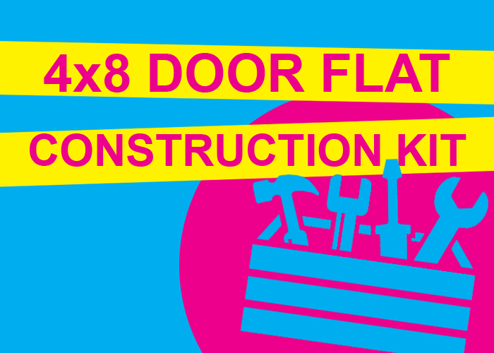 4X8 DOOR FLAT