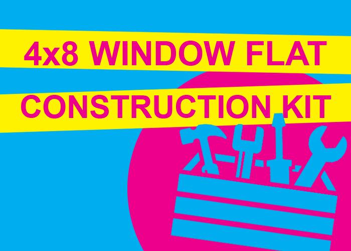 4X8 WINDOW FLAT