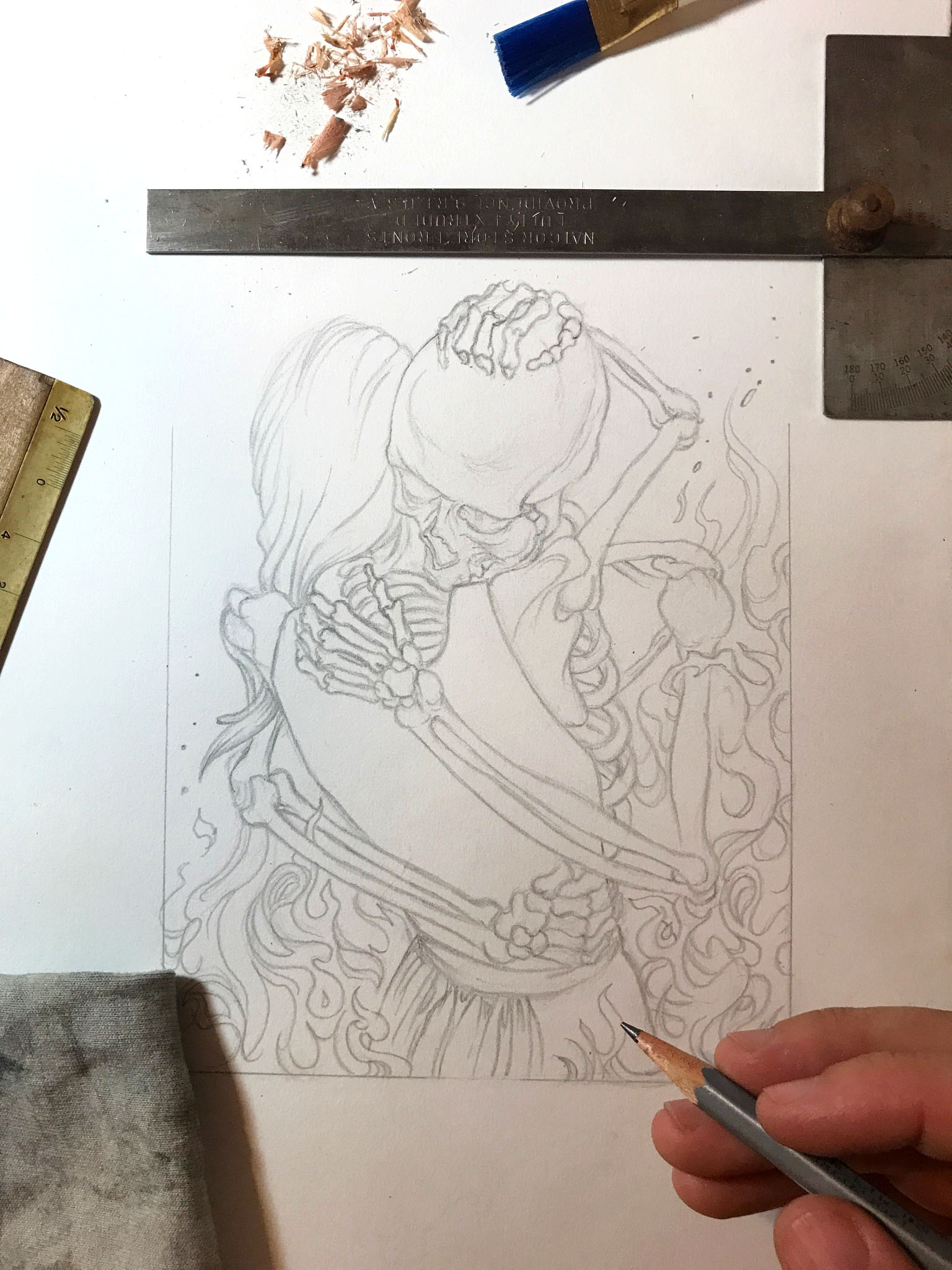 ETERNALLY-sketch-skull-lovers-josh-hunter