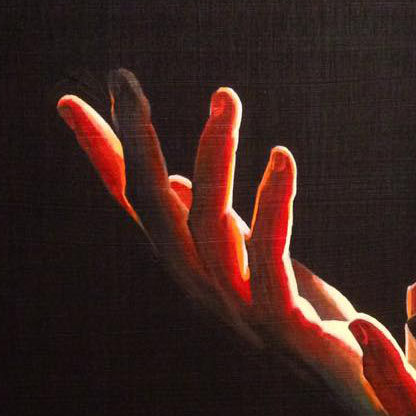 La-Luz-Hands-Painting-Josh-Hunter-detail