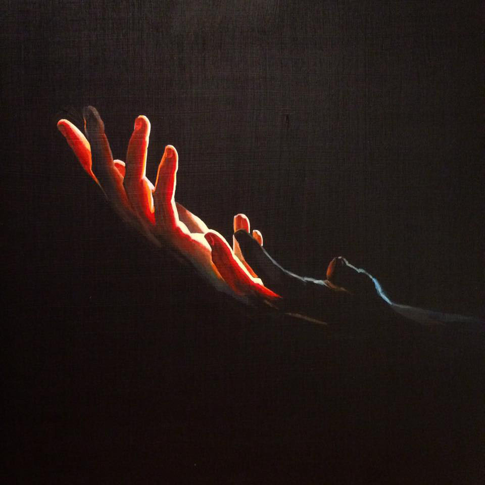 La-Luz-Hands-Painting-Josh-Hunter