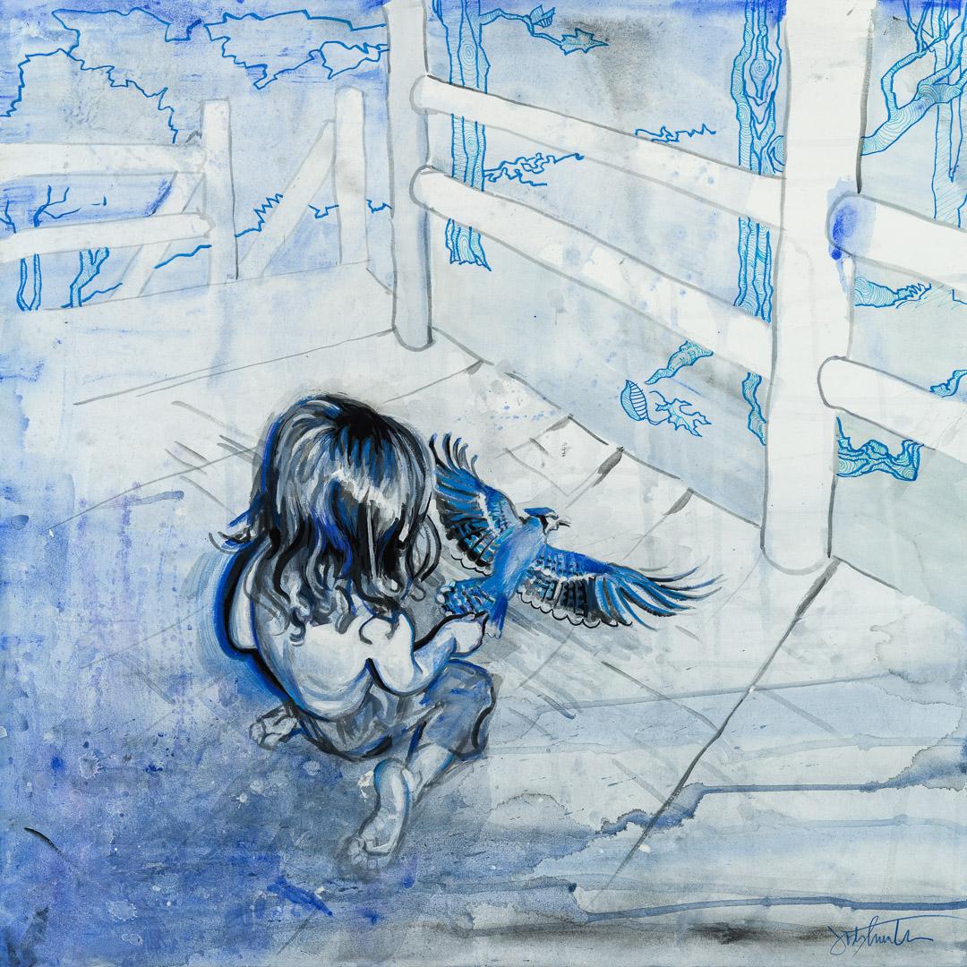 the-blue-j-josh-hunter-painting