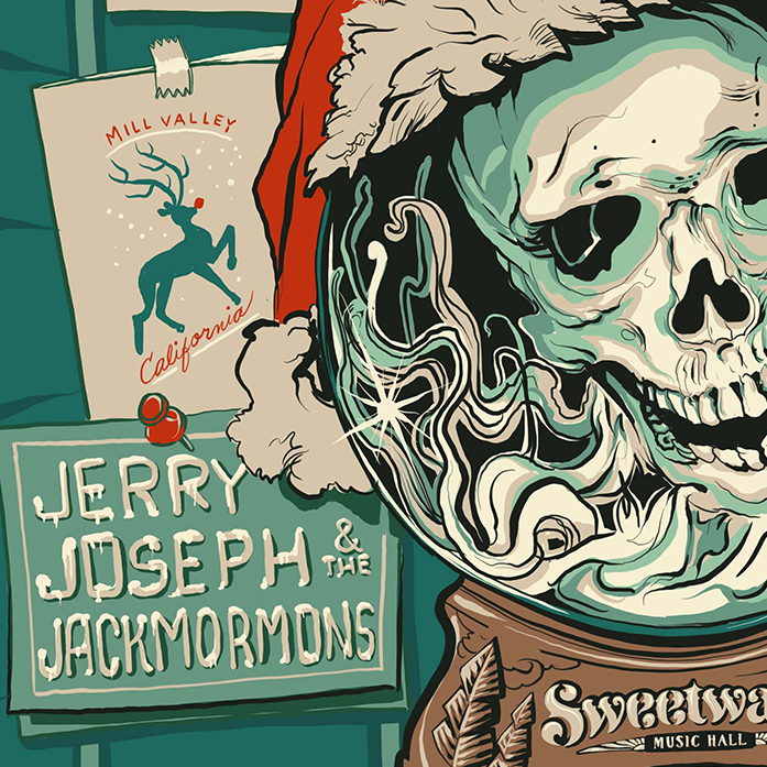 Jerry Joseph Poster Sweetwater Music Hall Josh Hunter 1