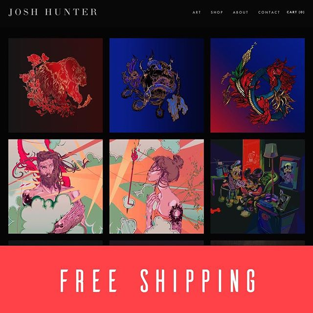 Hey All! I've got a new site stocked with new prints and an offer on free shipping through 5/31. Just click the link in my bio to browse the collection and learn more! #art #illustration #fineart #sandiegoart